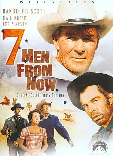 SEVEN MEN FROM NOW BY SCOTT,RANDOLPH (DVD)